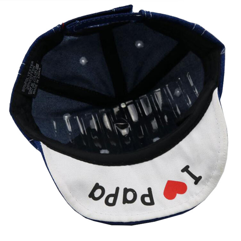 Cartoon Baby Boy Hat Cowboyhoed Leuke Liefde PaPa MaMa Baby Hoed - Babykleding - Foto 6