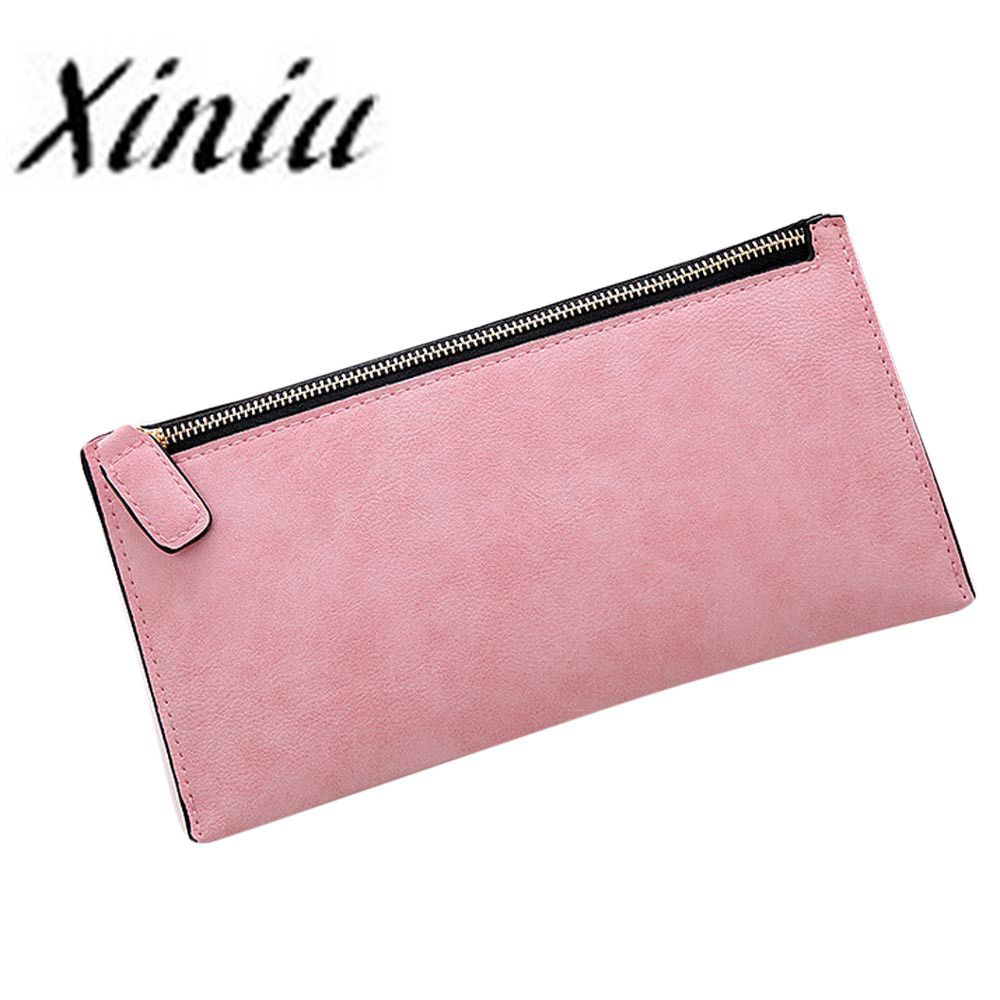 XINIU brand Fashion long wallet Women pu Leather Zipper Wallet Clutch Card Holder coin Purse Lady Long carteras mujer gift #48 ножовка садовая grinda 8 151853 z01