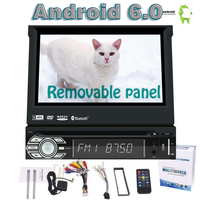 7 Android 6 0 Car Styling Headunit Automotive Vehicle 1 Din DVD Player Support WiFi 3G