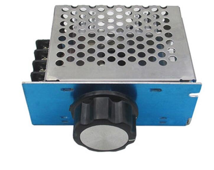 AC 220V 4000W SCR Voltage Regulator Dimmer Motor Speed Controller Module