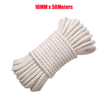 10mm Handmade Cotton Rope 100% Natural Cotton Rope 50Meters