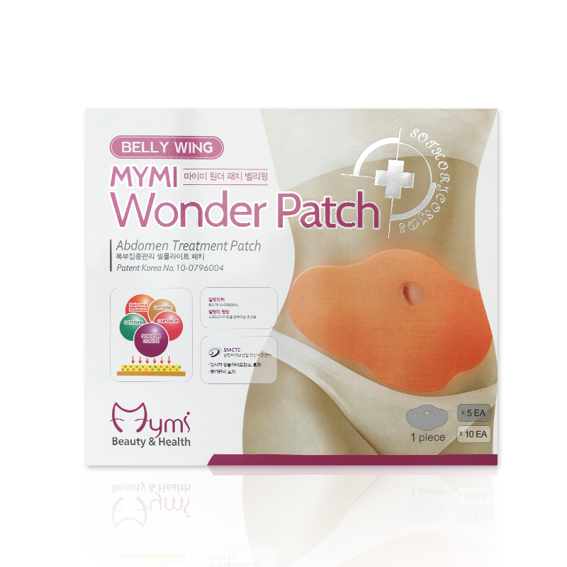 Belly Weight Loss stickers MYMI WONDER PATCH Belly Abdomen Women Slimming Massager Products Fat Burning On sale