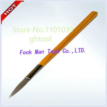 Jewelry Tools Agate Burnisher with Bamboo Handle Knife Shape 100pcs/lot jewelery tools