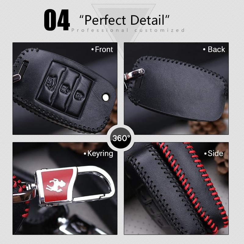 Llave del coche cubierta de la caja inteligente para Kia Rio K2 3 4 - Accesorios de interior de coche - foto 5
