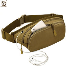 Men's Multifunctional Waist Packs Women Portable Chest Bags Mini Shoulder Bag Phone Purse Chain Strap Pack(China)