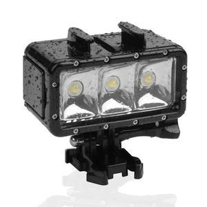 Image 3 - SHOOT 30M Underwater Waterproof LED Lamp Diving Fill Light for GoPro Hero 8 7 5 Black Xiaoyi 4K Sjcam Eken Video Flash Lighting