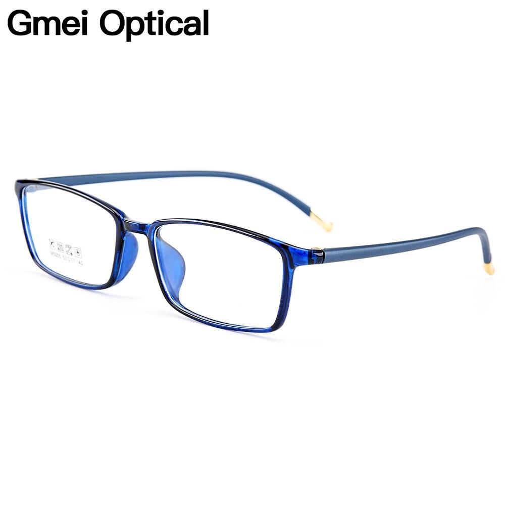 Gmei Optical Ultralight TR90 Women Optical Glasses Frames Plastic Optic Glasses Frame For Men Myopia Spectacles Oculos M5005
