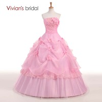 Hot Sale Sweet 16 Dresses Quinceanera Dresses Cheap Quinceanera Gowns Red Pink Floral Masquerade Without Petticoat