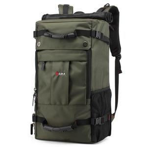 Image 3 - 40 L High capacity Oxford Waterproof Laptop Backpack Multifunctional Travel Bag Mochila School bag Hiking Luggage Bag KAKA