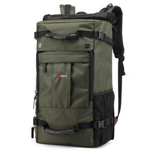 Image 3 - Kaka mochila de laptop impermeável de 40 l, mochila multifuncional de alta capacidade para viagem, escola, caminhadas