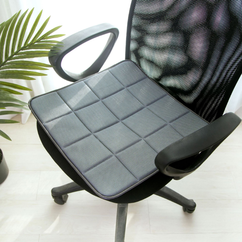 O SHI CAR Bamboo Charcoal Seat Cushion 3D mesh breathable Automobile Seat Cover Environmental Health Square Chair Mat