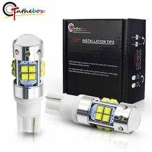 Gtinthebox высокое Мощность T10 светодиодный 912 921 светодиодный лампы XB-D чипы авто лампы Автомобильные фары Парковка резервная копия; цвета белый, желтый, красный; 12V
