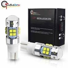 Gtinthebox Ad Alta Potenza T10 LED 912 921 LED Della Lampadina del CREE Chip XB-D Auto Lampada Auto Luci di Parcheggio Inversione di Sostegno Bianco giallo Rosso 12 V
