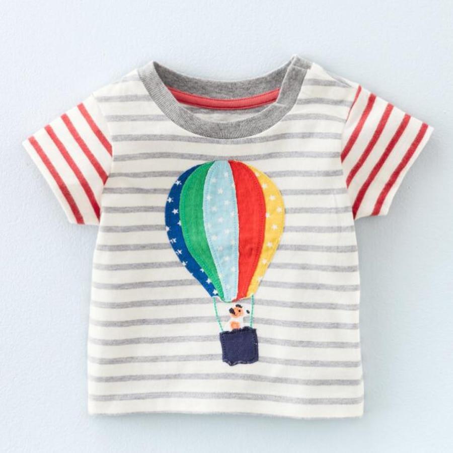 (18 м-6 т) 6 шт./1 лот для маленьких девочек верхняя одежда для мальчиков детские хлопковые детские футболки футболка для маленьких мальчиков св...