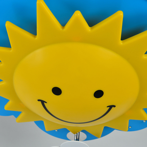 Image 4 - 크리 에이 티브 어린이 방 침실 천장 조명 따뜻한 빛 눈 led 소년과 소녀 만화 어린이 룸 조명