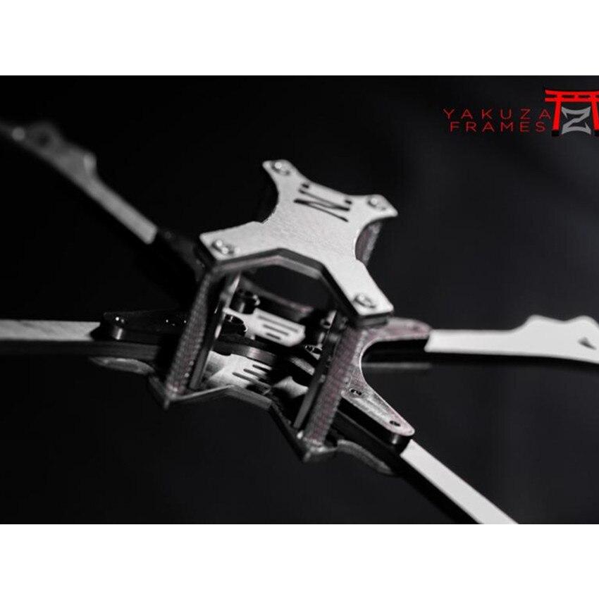 Yakuza kit de cadre de drone de style libre en fibre de carbone pure R226 pour les accessoires de drone d'expérience de violence de course en plein air
