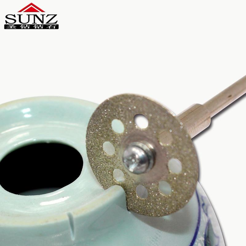 20 mm5pc příslušenství pro dremel Diamantové kotoučové pilové - Brusné nástroje - Fotografie 3