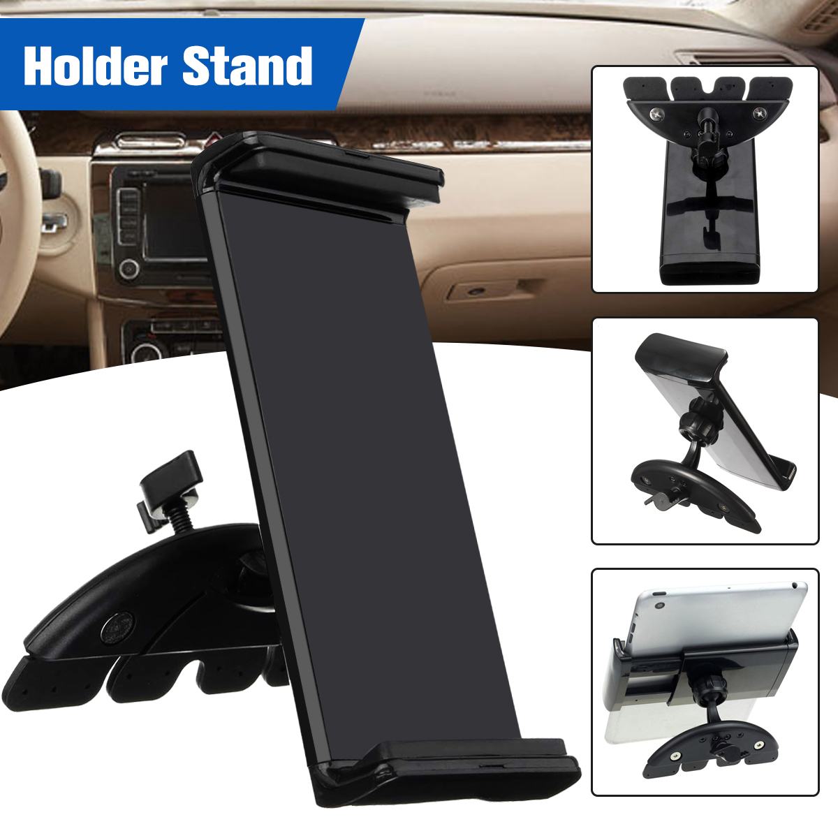 Universal Car CD Slot Mount Holder Stand For GPS Cell Phone Tablet iPad Mobile