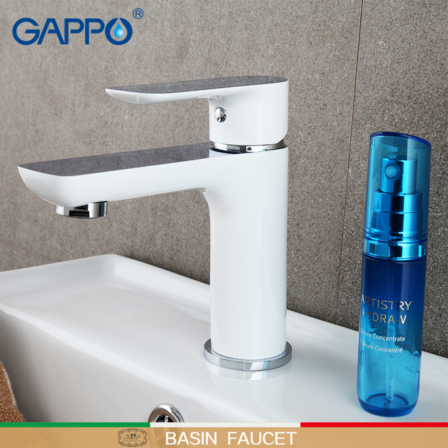 GAPPO Basin Faucets bathroom sink faucet tap basin mixer water tap waterfall faucet bathroom brass tap chrome mixer torneira