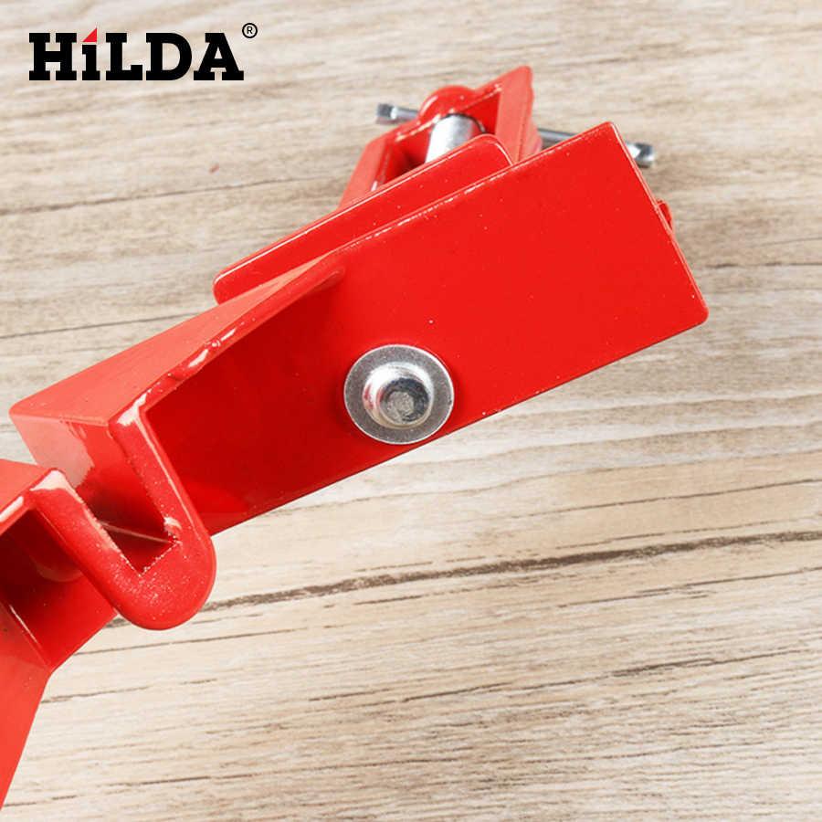 HILDA 90 องศามุมขวาคลิปกรอบรูปมุม CLAMP 100MM Clamps มุมผู้ถือไม้มือเครื่องมือ