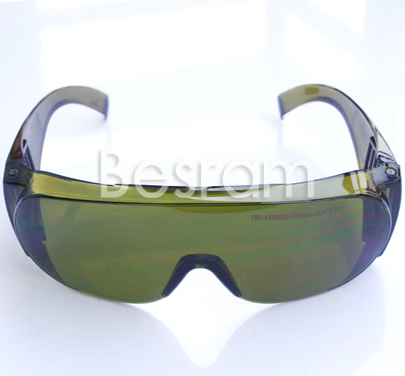 CE Certificate IPL UV IR 200-450nm, 800-2000nm Laser Safety Goggles Protection Glasses O.D 4 Beauty Clinic EP-5  laser protection goggles glasses for 808nm 810nm ir infrared lazer