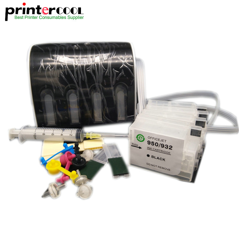 1Set 950 951 CISS For HP With ARC chip Officejet Pro 8100 8600 8610 8620 8630 8640 8660 8615 8625 printer