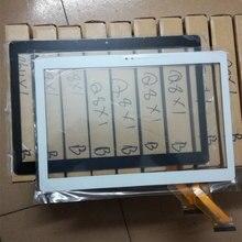 MGLCTP-10927-10617 para 10.1 pulgadas tablet Panel de pantalla táctil en el exterior MGLCTP-10927-10617FPC 2 agujeros Cristal de la pantalla táctil