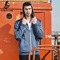 Pioneer Camp 2017 Новые Моды для Мужчин Толстовки и Кофты brand clothing Высокое качество случайный Мужчина С Капюшоном Толстовка 622023