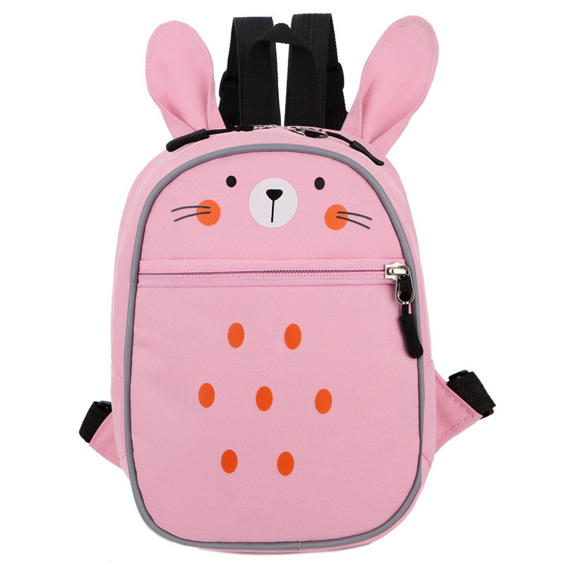 a62b2131d4 Children school bags for girls boys nursery baby kindergarten backpack cute  cartoon Animal rabbit schoolbag kids book bag -in School Bags from Luggage  ...