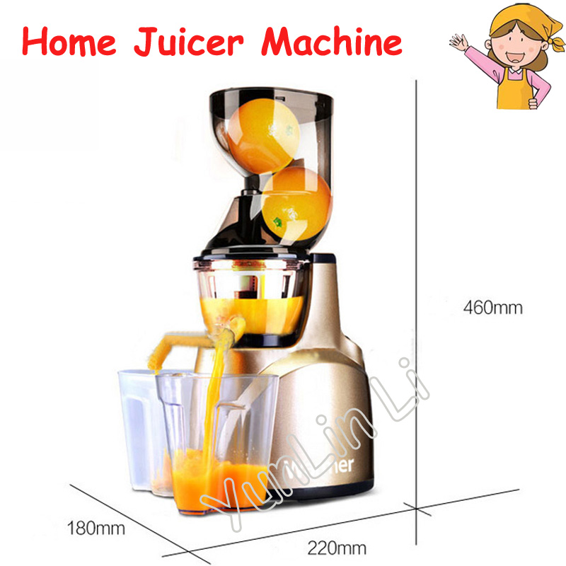 Home Juicer Multi-Functional Soybean Milk Machine Household Large Caliber Juicer Automatic Juice Extractor WJE-L2B free shipping all steel soybean milk machine automatic multi function special offer quality goods