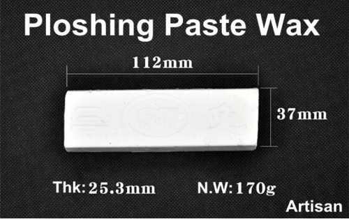 Mirror Finish Paste Wax White Metal Polishing Paste Chromium Oxide