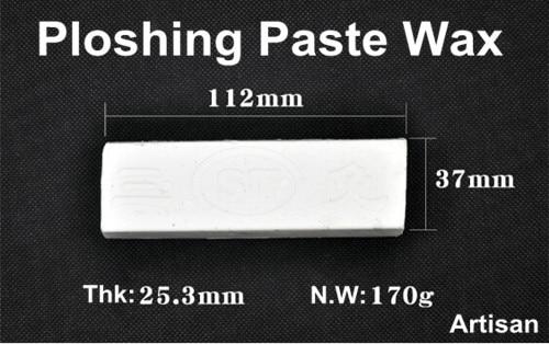 Mirror Finish Paste Wax White Metal Polishing Paste Chromium Oxide