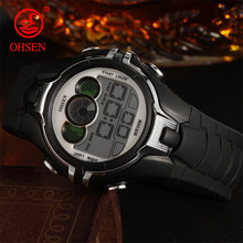Watches For Kids LED Sport Style Children's Digital Electronic Watch Boys Girls Children Cartoon 30M Waterproof Watch OHSEN 2019(China)