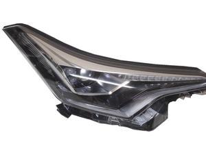 Image 1 - Video 1 Uds Luz de parachoques para CHR lámpara de cabeza 2017 2018 2019 C HR faro led, accesorios para automóvil, rush,CHR luz delantera, pegatina para automóvil, C HR
