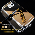 New Cover For Samsung Galaxy S7 S6 Edge S6 Case Mirror case Aluminum TPU Back Phone cover for samsung galaxy S 7 s 6 accessories