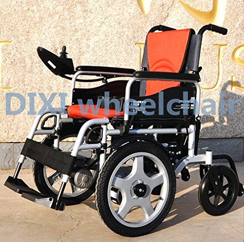 16inch 10inch folding electric wheelchair with brush wheelchair motor PPSE1160