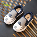 J Ghee 2017 Spring New Kids Shoes For Boys Girls Fashion Soft Children's Casual Canvas Sneakers Cartoon Animal Prints Size 23-28