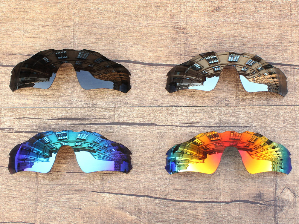 PapaViva POLARIZED Replacement Lenses for Radar EV Path Sunglasses 100% UVA & UVB Protection - Multiple Options