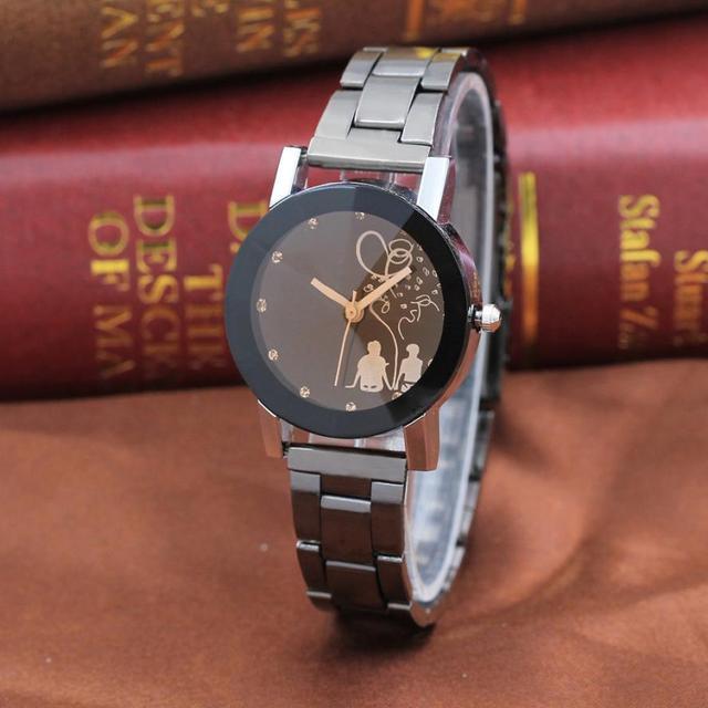 Vintage Lover Unisex Watch Women Men Clock Luxury Student Couple Stylish Spire G