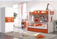 9618B современные детские детская двухъярусная кровать детская кровать мебель для спальни деревянная детская двухэтажная кровать