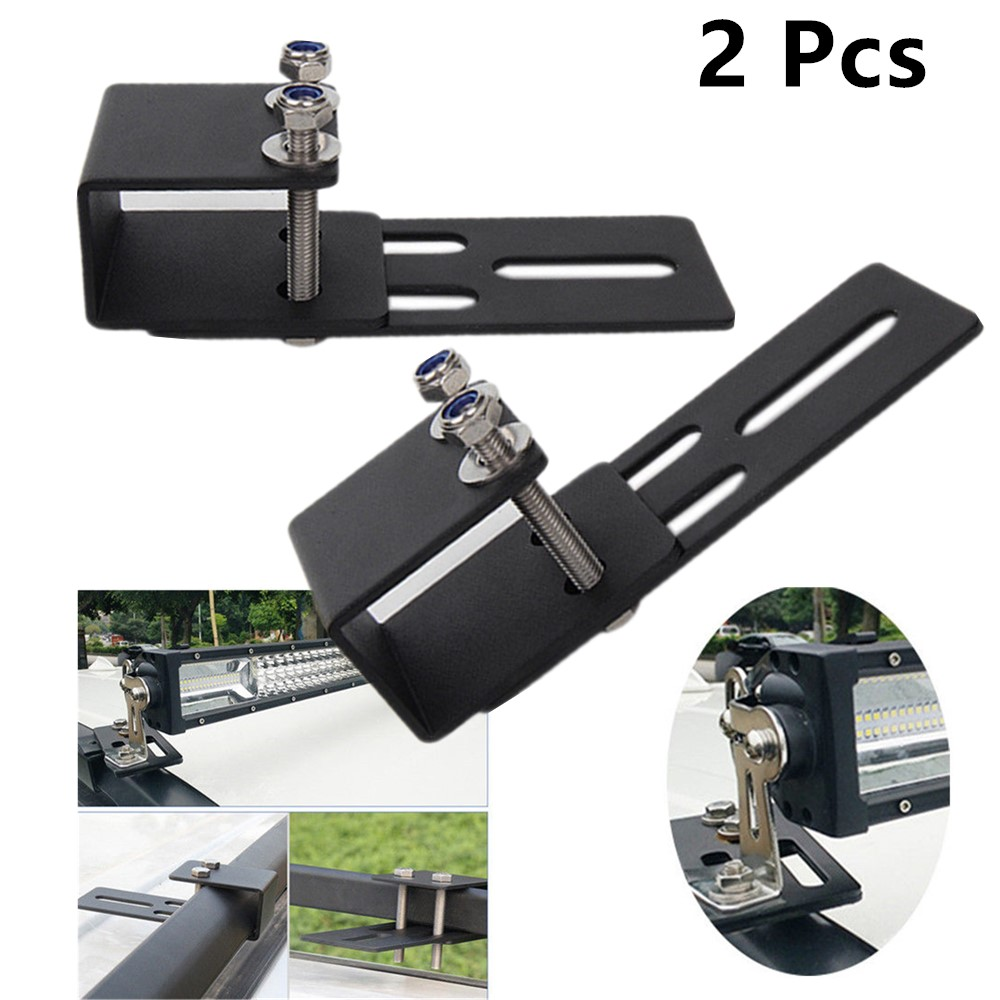 Car Accessories Offroad Vehicle Roof Rack Bracket Crossbar Luggage Rack Bumper Bull Bar Mounting Holder For Led Work Light Bar
