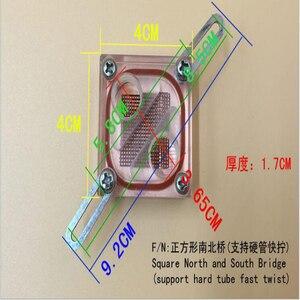 Image 2 - Beiqiao מים קירור ראש דרום צפון גשר מים קירור Waterblock עם G1/4 עבור מחשב מים קירור
