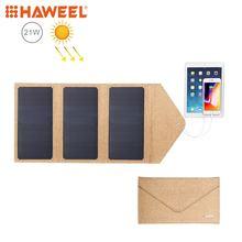 Складное зарядное устройство haweel на солнечной батарее 21