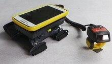 WT 1000 Dedo escáner de código de Barras 1D Bluetooth Portátil, anillo barcode reader para Android teléfonos inteligentes y tablet, anillo de captura de datos