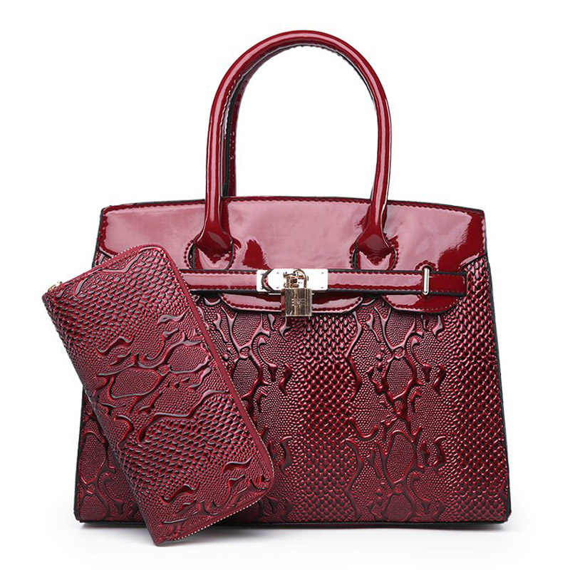 Designer PU Leather Female Hand Bags Handbags Women Famous Brands 2019  Ladies Shoulder Bags Sac A 007dfc70a880b