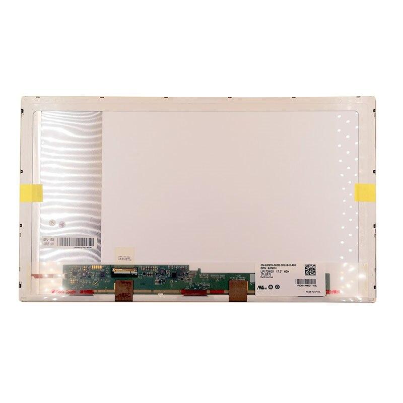 For ASUS N73S N75 N76 G73 G74 G75S G750JX K72 17.3 inch LCD screen цены онлайн