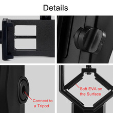 New Portable CM-4 Microscope Adapter Clip Binocular Monocular Spotting Scopes Universal Mobile Phone Camera Adapter Holder