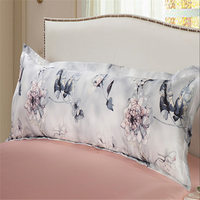 New 100 Mullberry Silk Long Pillowcase Smooth Pillow Cover Soft Envelope Pillow Case For Bedding 3