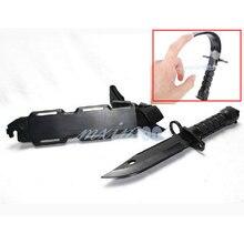 New 1 Pcs manœuvre guerre jeux Cosplay Trick Prank gt ABS plastique souple faux modèle de couteau couteau peluche pour enfants jouets F