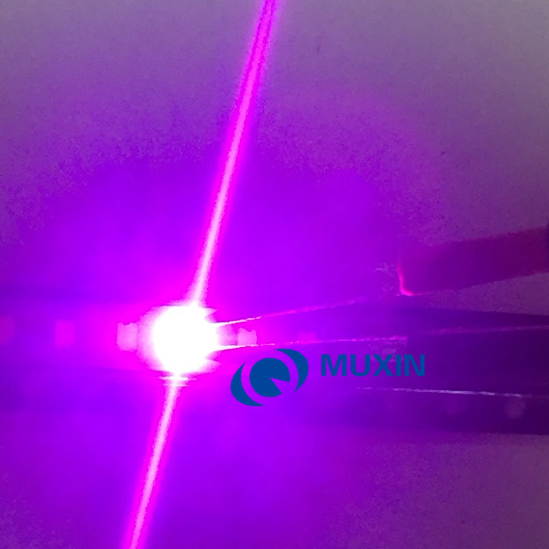 Electronic Components & Supplies 100pcs Uv Led Smd 5050 Chip Purple Surface Mount Bead 60ma Ultraviolet 395nm 400nm Led Ultra Violet Light Emitting Diode Lamp Moderate Price